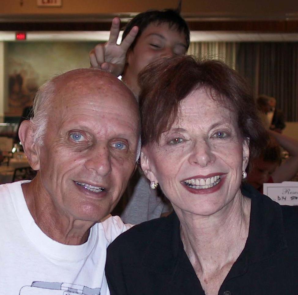 Mom, dad, & grandson Doug