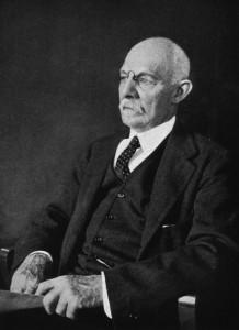 William Stewart Halsted in 1922. From NLM online