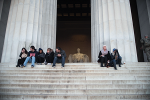 I visited Abe while in DC for the conference. Where would we be if he hadn't developed a growth mindset?