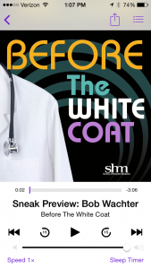 Available on iTunes: Before The White Coat