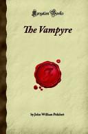 The Vampyre, by Polidori