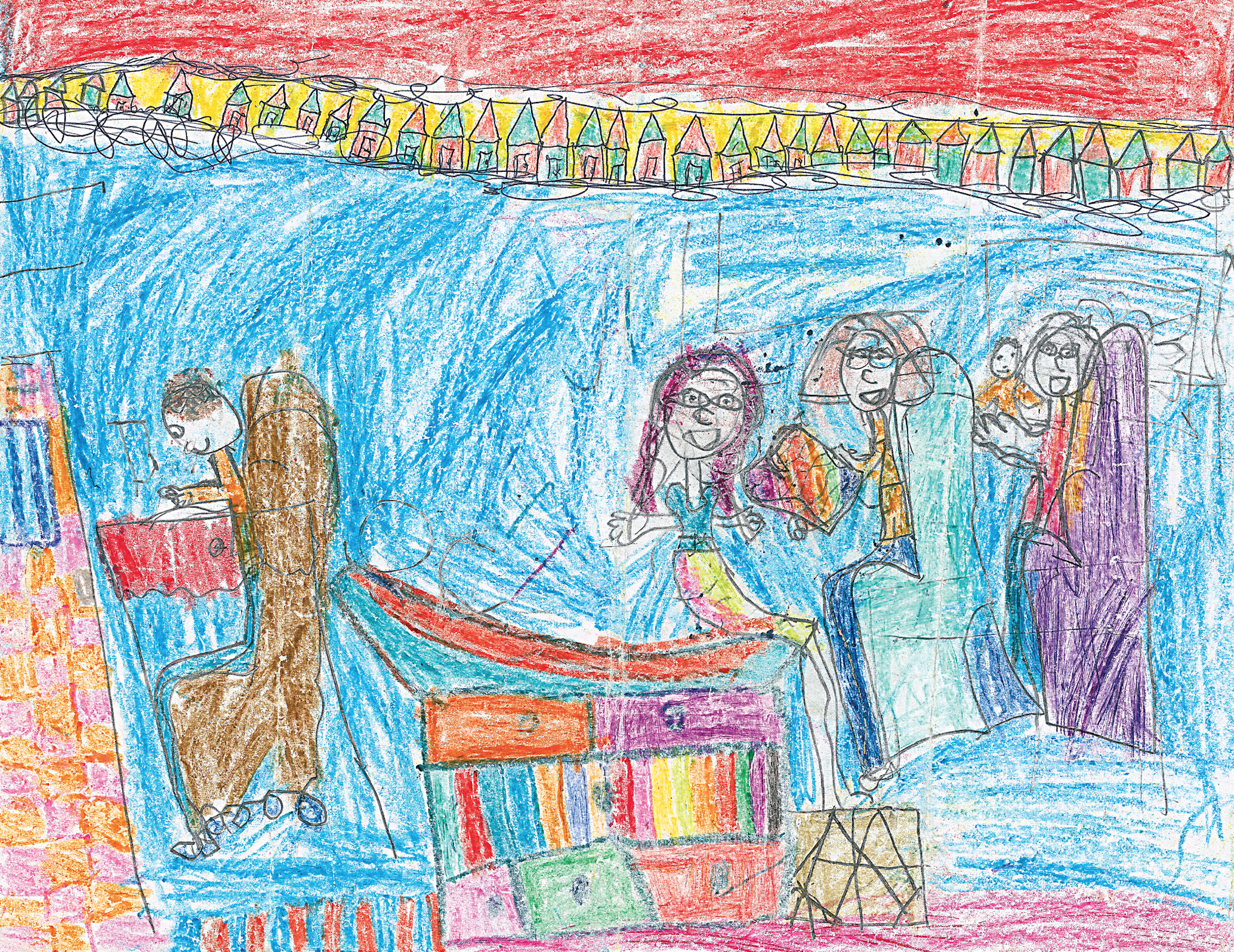 7 yr old's depiction of MD visit (Toll, JAMA 2012)