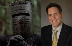 The Black Knight and Dr. Rich Baron