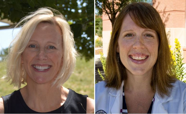 Christine Jones, MD & Jane Lindsay, MD